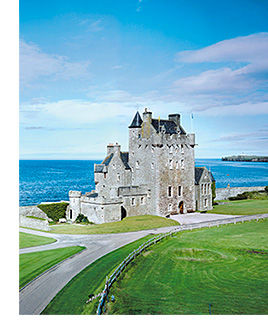 Burns will be toasted at Ackergill Tower.