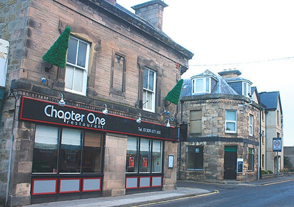 Time to turn the page: a new owner is sought for Chapter One restaurant in Forres.