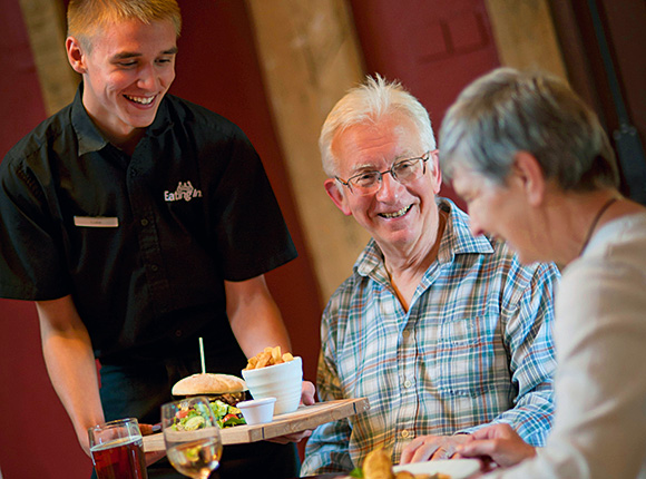 Greene King reported a 4.1% uplift in food sales across its estate of managed pubs.