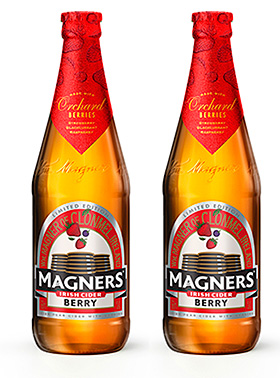 Magners sales fell in volume terms.