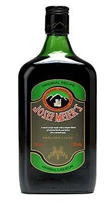 Josef Meier's liqueur has an ABV of 30%.