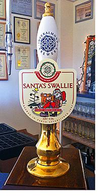 Inveralmond's Santa's Swallie.