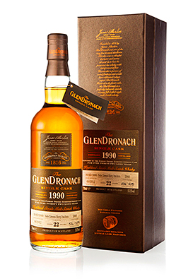 GlenDronach said the recognition of the 1990 cask highlights the strength of its single casks.