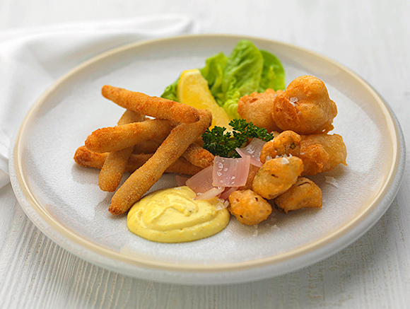 Martin Wishart said he relished the task of recreating popular favourites like fish and chips.
