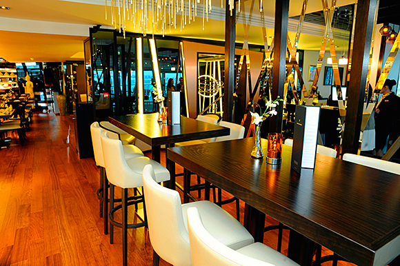 Chaophraya's new Edinburgh restaurant, in the premises of the former Oloroso.
