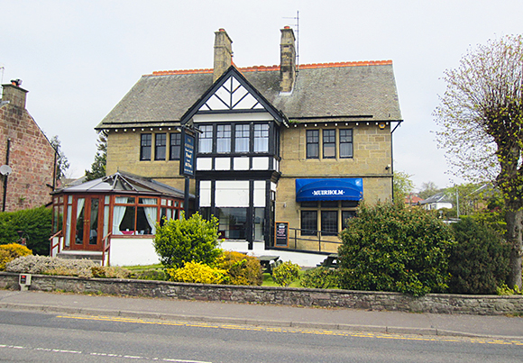 The Muirholm Bar and Restaurant in Cardross is for sale through CDLH.