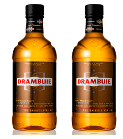 The whisky liqueur is 40% ABV.