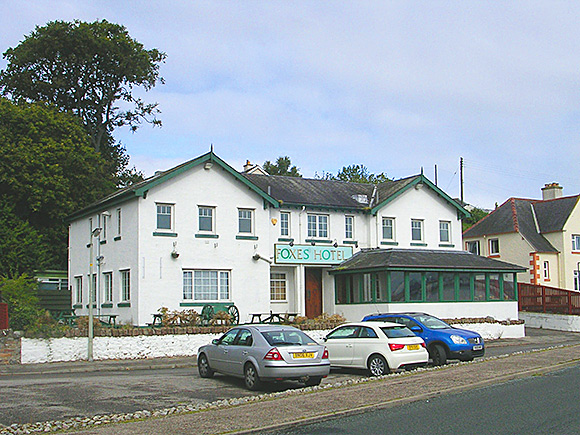 Foxes Hotel has 12 letting bedrooms and overlooks the Cromarty Firth.