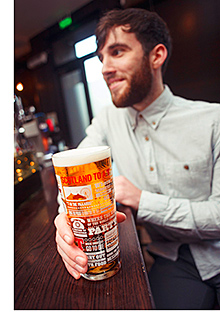 Quality is key for beer sales, says Tennent's.