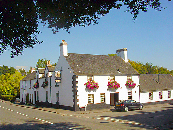 The former coaching inn in the Renfrewshire village of Houston dates from 1779.
