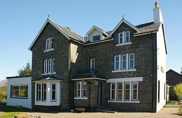 Loch Shiel House Hotel has nine bedrooms