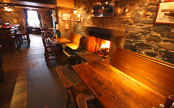 """The menu in the Ferryman's Bar has been revamped with a """"twist"""" on traditional dishes."""