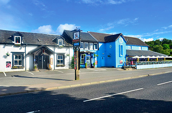 Changed days: The Oyster Inn and Ferryman's Bar in Connel, near Oban, is under new management.