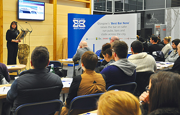 GCSS recently hosted a Best Bar None seminar in Glasgow, featuring talks by Strathclyde Police.