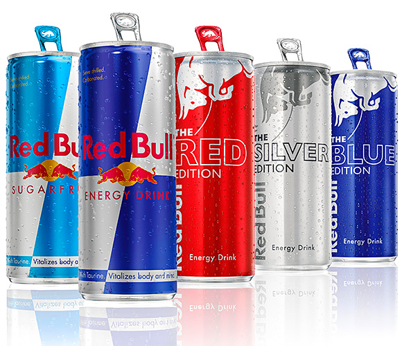 RED Bull is set to launch a new marketing campaign to promote its three flavoured energy drinks.