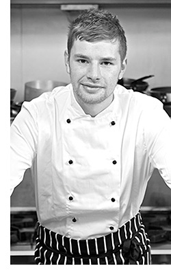 Owner and chef, Michael Neave Kitchen and Whisky Bar, Edinburgh