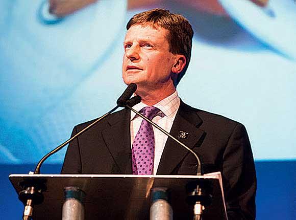 Glasgow 2014 marketing boss Gordon Arthur.