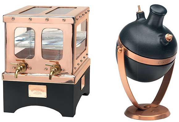 Morrison Bowmore Distillers has launched two dispensers: the water safe and the tilter.
