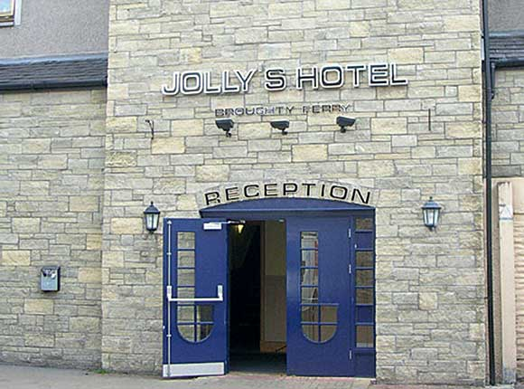 Jolly's Hotel in Broughty Ferry.