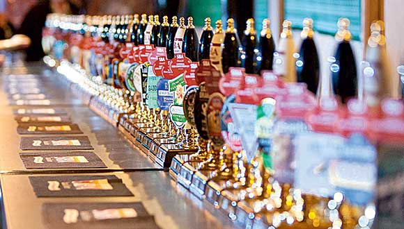 The vast array of local beers available in the UK was highlighted at SIBA's Brewing Competition.