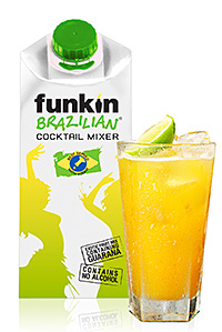 The new Funkin Brazilian cocktail mix.