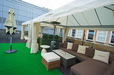 """The Roof Terrace at 29 was developed to provide """"consistency of delivery"""", according to GM Michael Robertson."""