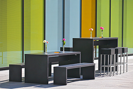 Demand is rising for well-designed outdoor furniture which is durable and weather-resistant.