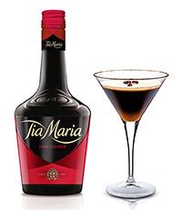 Tia Maria and the Espresso Martini .