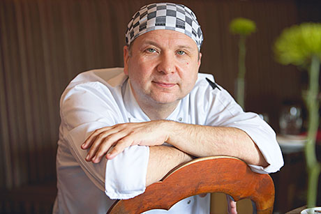 Enrico Cirmayir, Executive head chef, The Arch Bistro, Fettercairn, Aberdeenshire