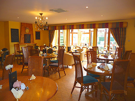 Sugar & Spice comprises a 50-cover tearoom, with additional outdoor seating to the front of the premises and in the gardens at the rear