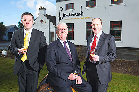 TWO Scottish drinks firms have won royal recognition after being presented with the Queens Award for Enterprise.