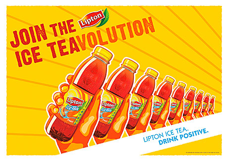 BRITVIC Soft Drinks has launched what it claims is the biggest ever sampling campaign for ice tea brand Lipton.