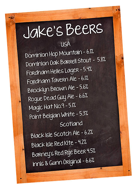 Jakes beers