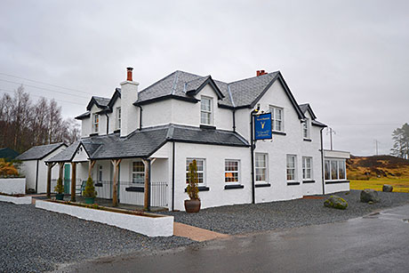 The Moor of Rannoch Hotel by Rannoch Station, Perthshire.