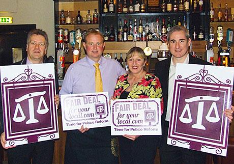 Pubco campaign heads to Scotland