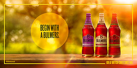 BULMERS cider is the focus of a new ad campaign in the run-up to summer