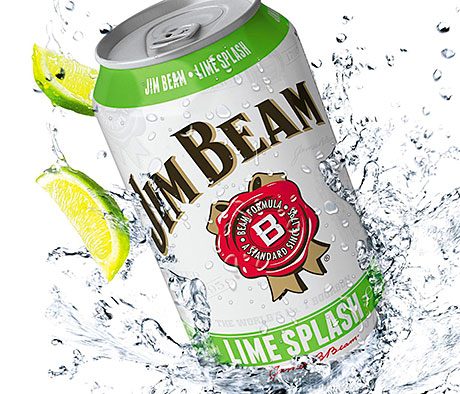 Jim Beam Lime Splash is 4.6% ABV.