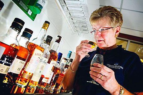 THE longest-serving female employee at Chivas Brothers was celebrating last week after chalking up 45 years with the company.