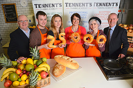 TENNENT Caledonian joined forces with Skills Development Scotland last month for the launch of the national skills body's 2013 Modern Apprenticeship (MA) scheme.