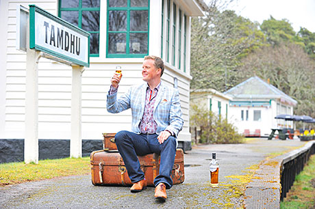 TV personality and drinks writer Olly Smith hosted a tasting of the new malt.