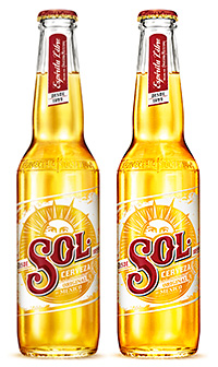 MEXICAN lager brand Sol has been given a makeover in time for summer.
