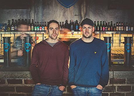 Raising the bar: Brewdog founders Martin Dickie (left) and James Watt.