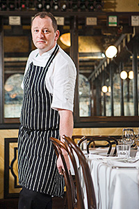 • Slow Food chef Neil Forbes.