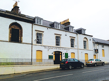 Cullen hotel and Irvine bar for sale through Shepherd