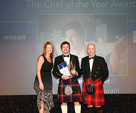 Chef of the Year winner Graeme Pallister.