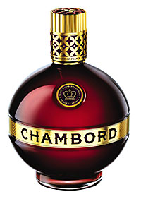 The Chambord ad is on screens now.