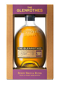 The packaging 'frames' the bottle.