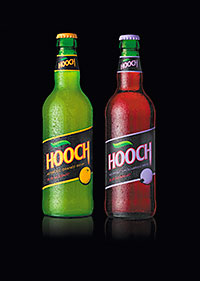 Feeling fruity: the new orange and blackcurrant variants have joined the original lemon flavour.