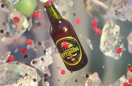 Feeling fruity: the new Kopparberg ad focuses on the ingredients and refreshment of the cider.
