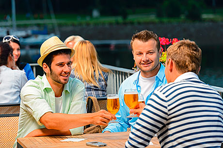 A surge in summer sunshine could help boost sales of draught beer in the Scottish on-trade.